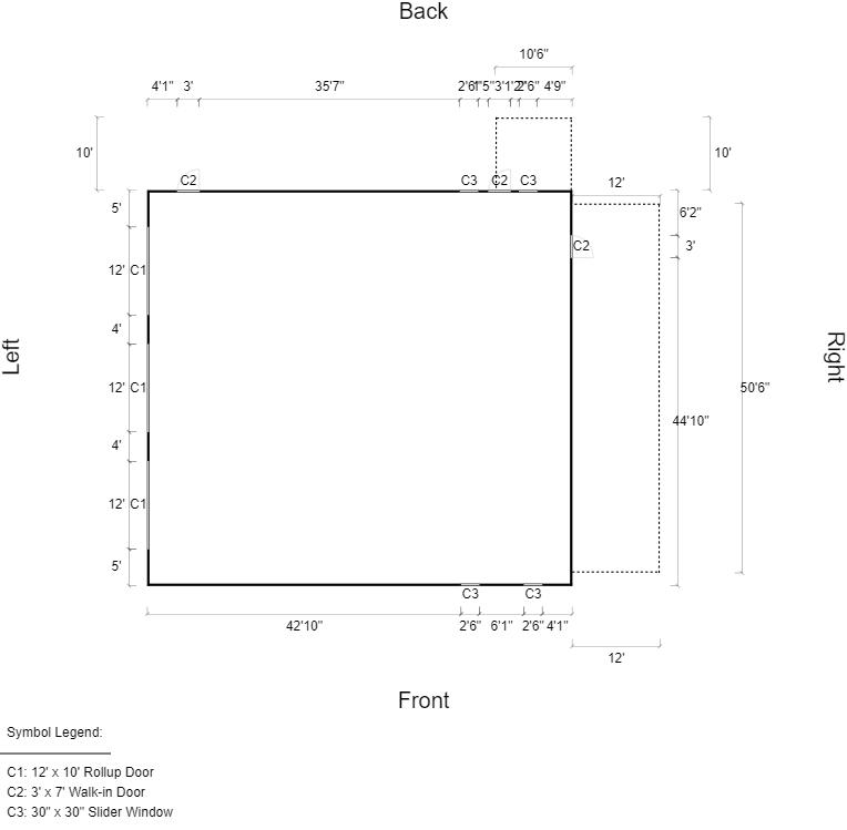 3d floor plan view